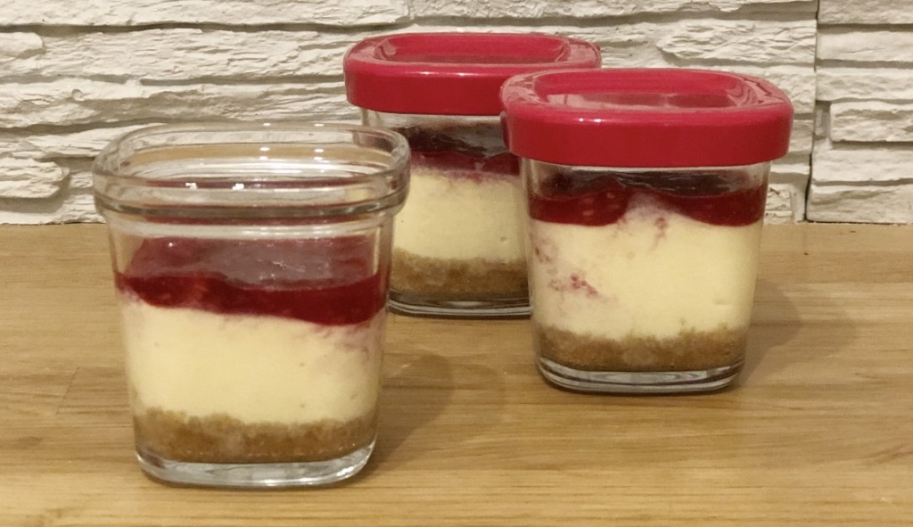 Cheesecake coulis fruits rouges Seb Multidélices
